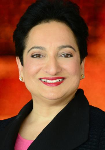 Distinguished Public Service Award recipient Shamina Singh (MPAff97)