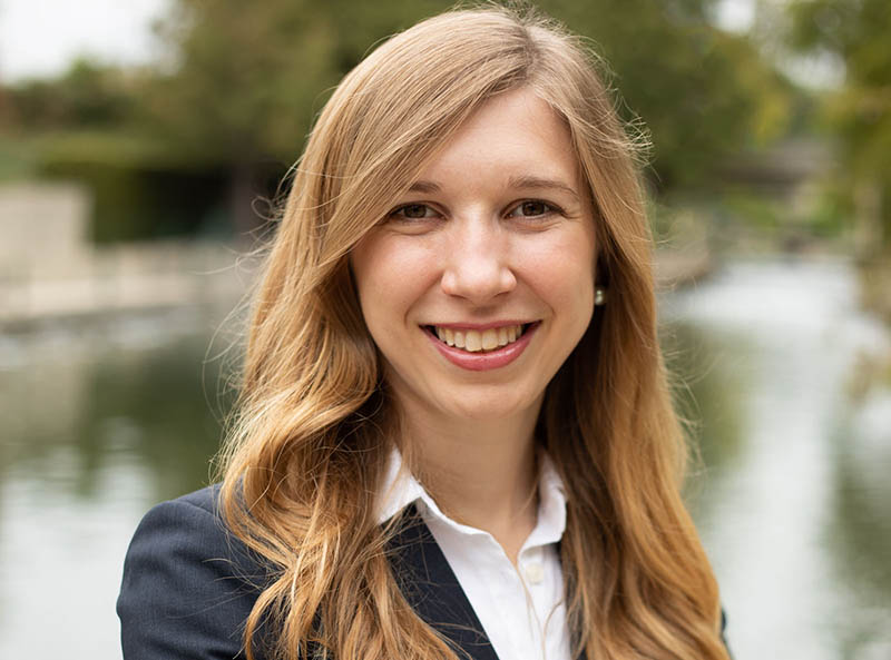 LBJ MPAff student Amy Kroll