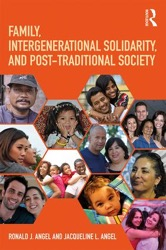 """Book cover of \""""Family, Intergenerational Solidarity, and Post-Traditional Society\"""""""