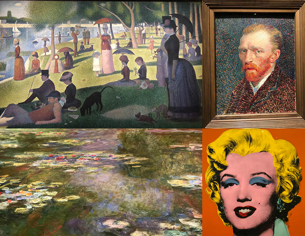 Some of the signature pieces at the Art Institute of Chicago's world-famous collection