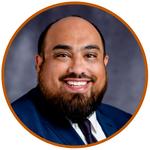Headshot: 2022 LBJ DC Fellow Eric Bustos