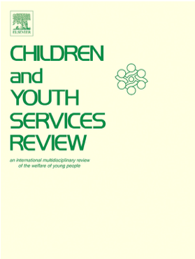 Cover of the journal Children and Youth Services Review