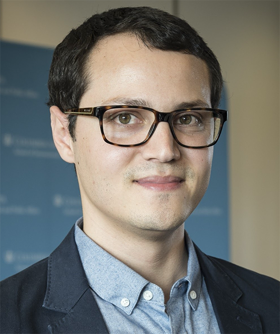 LBJ Ph.D. student Eloy Oliveira