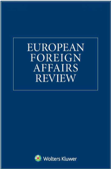 Cover of the journal European Foreign Affairs Review