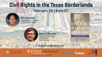 Will Guzman and Beto O'Rourke: Civil Rights in the Texas Borderlands