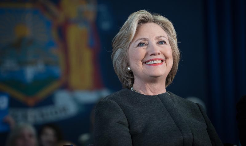 The Honorable Hillary Rodham Clinton