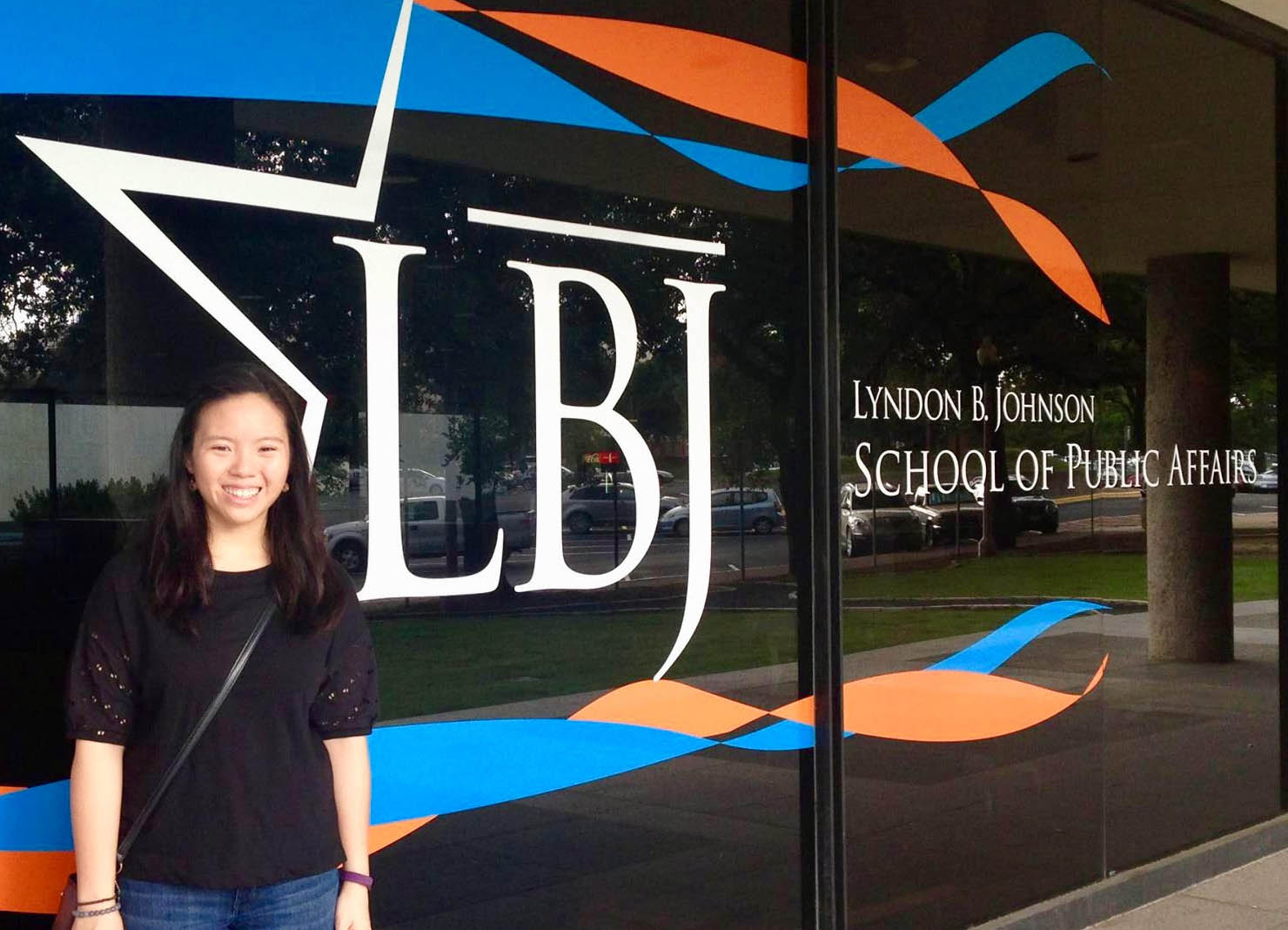 LBJ dual degree student Jaclyn Le (MPAff '19)