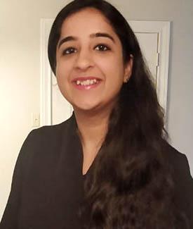 Ph.D. student Jasleen Kaur