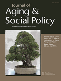 Cover of Journal of Aging & Social Policy