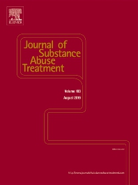 Cover of the Journal of Substance Abuse Treatment
