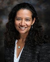 Ph.D. student Nisha Krishnan