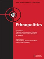 Cover of the journal Ethnopolitics