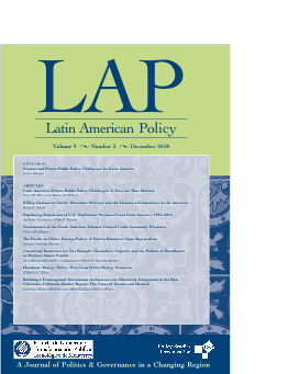 Logo of the journal Latin American Policy