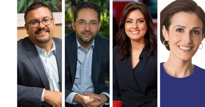 Panelists for Latinos and the 2020 Election: A Post-Mortem: Matt Barreto; Geraldo L Cadava; Daniela Pierre-Bravo; Dr. Victoria DeFrancesco Soto