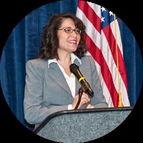 Ph.D. candidate Maria-Elena Giner, P.E.