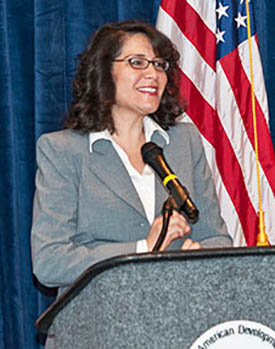Ph.D. candidate Maria-Elena Giner