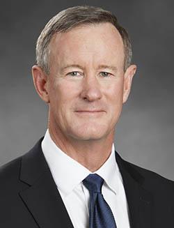 Professor of National Security Adm. William McRaven