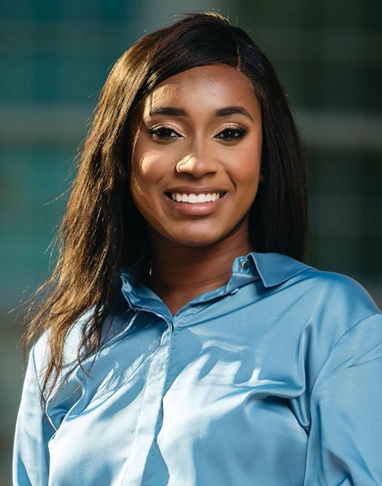 LBJ MPAff/Public Health student Morgan Brown