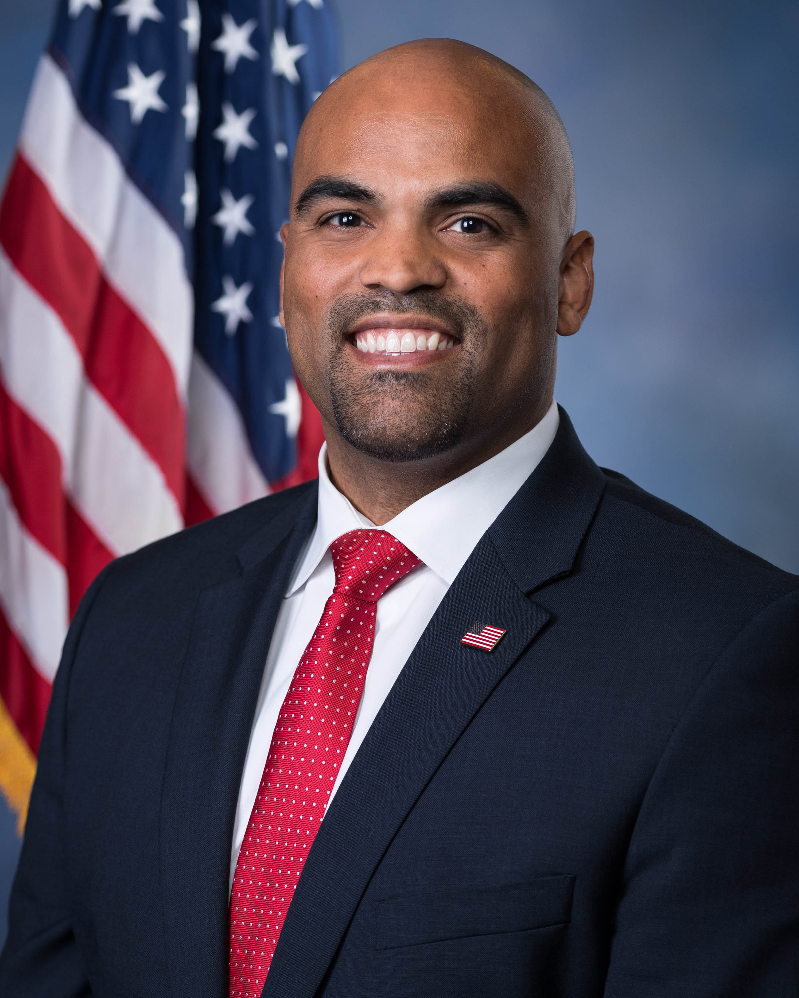 Official 2018 portrait of U.S. Rep. Colin Allred_D-TX