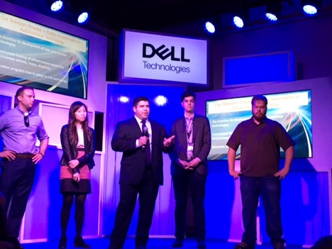 Reynaldo De La Garza presents at Dell PolicyHack