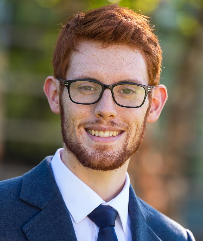 LBJ MPAff student Ruairi Vaughan
