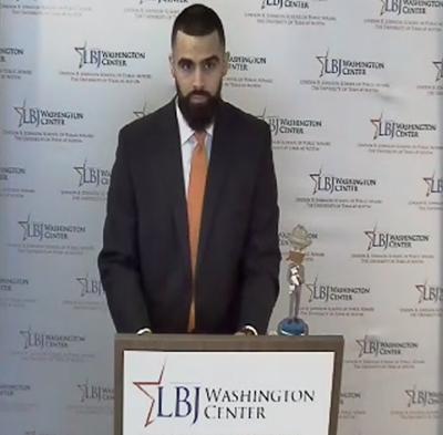 2020 DC class speaker Sahand Yazdanyar