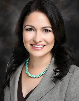 Ph.D. candidate Selena Caldera