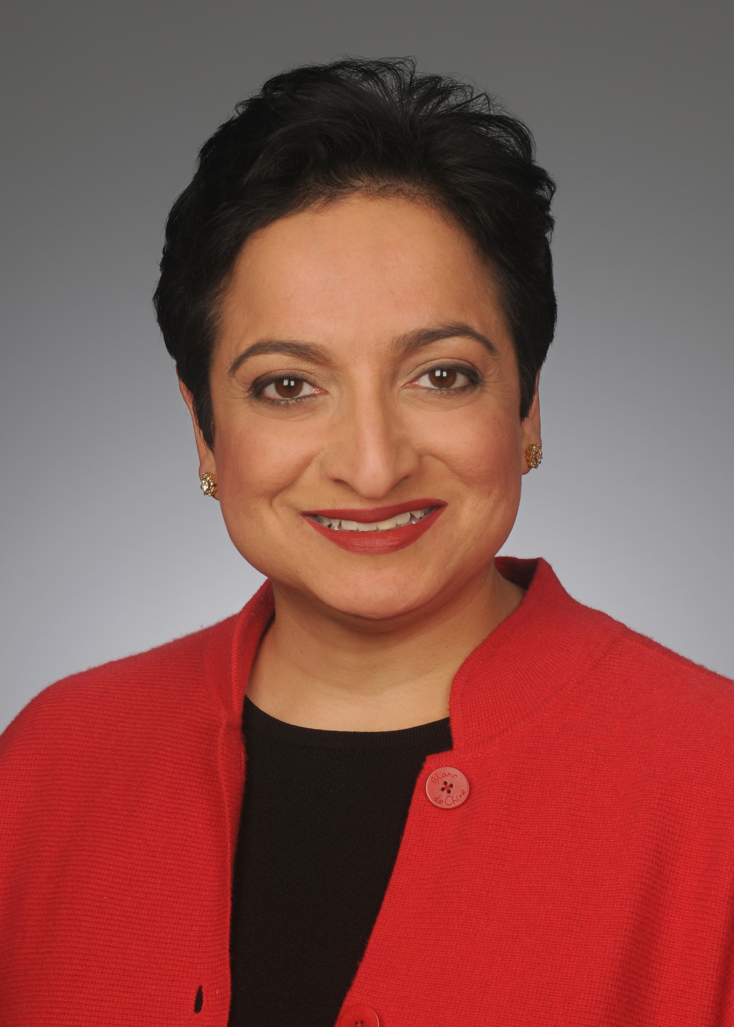 Shamina Singh (MPAff '97) is global sustainability lead for Mastercard