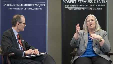 LBJ's Steve Slick with Sue Gordon