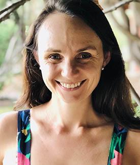 Ph.D. candidate Sophie M. Morse