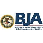 Logo of the Bureau of Justice Assistance, part of the U.S. Department of Justice