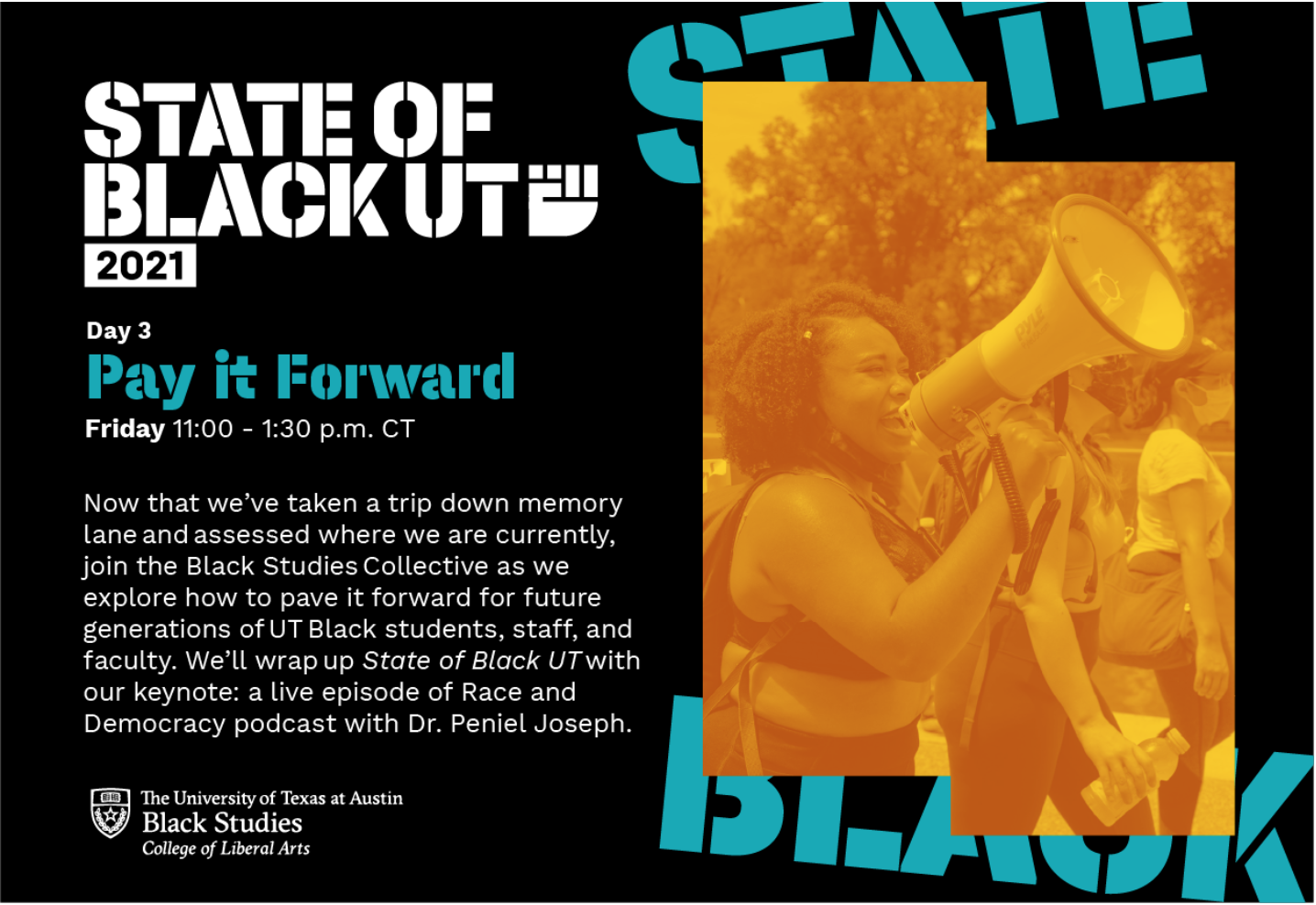 The State of Black UT: Pay it Forward