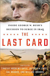 """Cover of the book """"The Last Card,"""" edited by Will Inboden"""