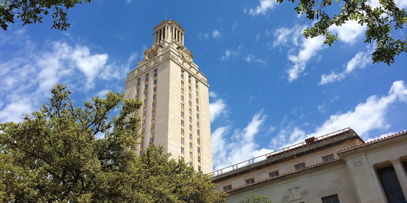University of Texas at Austin — credit Frank Fujimoto, CC BY-NC-ND 2.0. License: https://creativecommons.org/licenses/by-nc-nd/2.0/