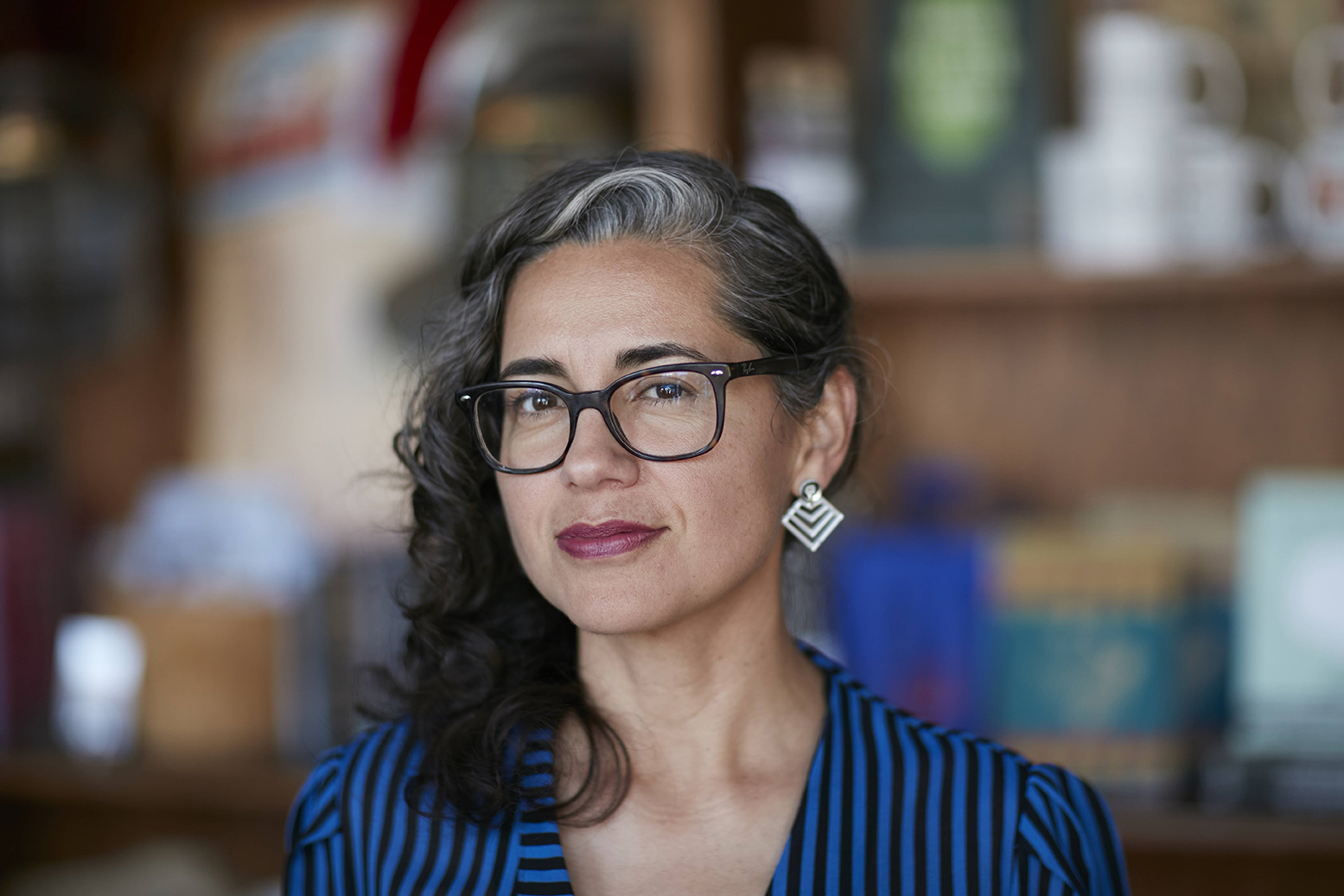 "Vickie Vertiz (MPAff '01) won the 2018 PEN America Literary Award in poetry for her book ""Palm Frond with Its Throat Cut"""