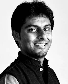 Ph.D. student Vivek S. Subramanya