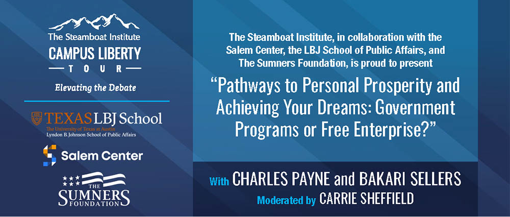 Pathways to Personal Prosperity & Achieving Your Dreams: Govt Programs or Free Enterprise?
