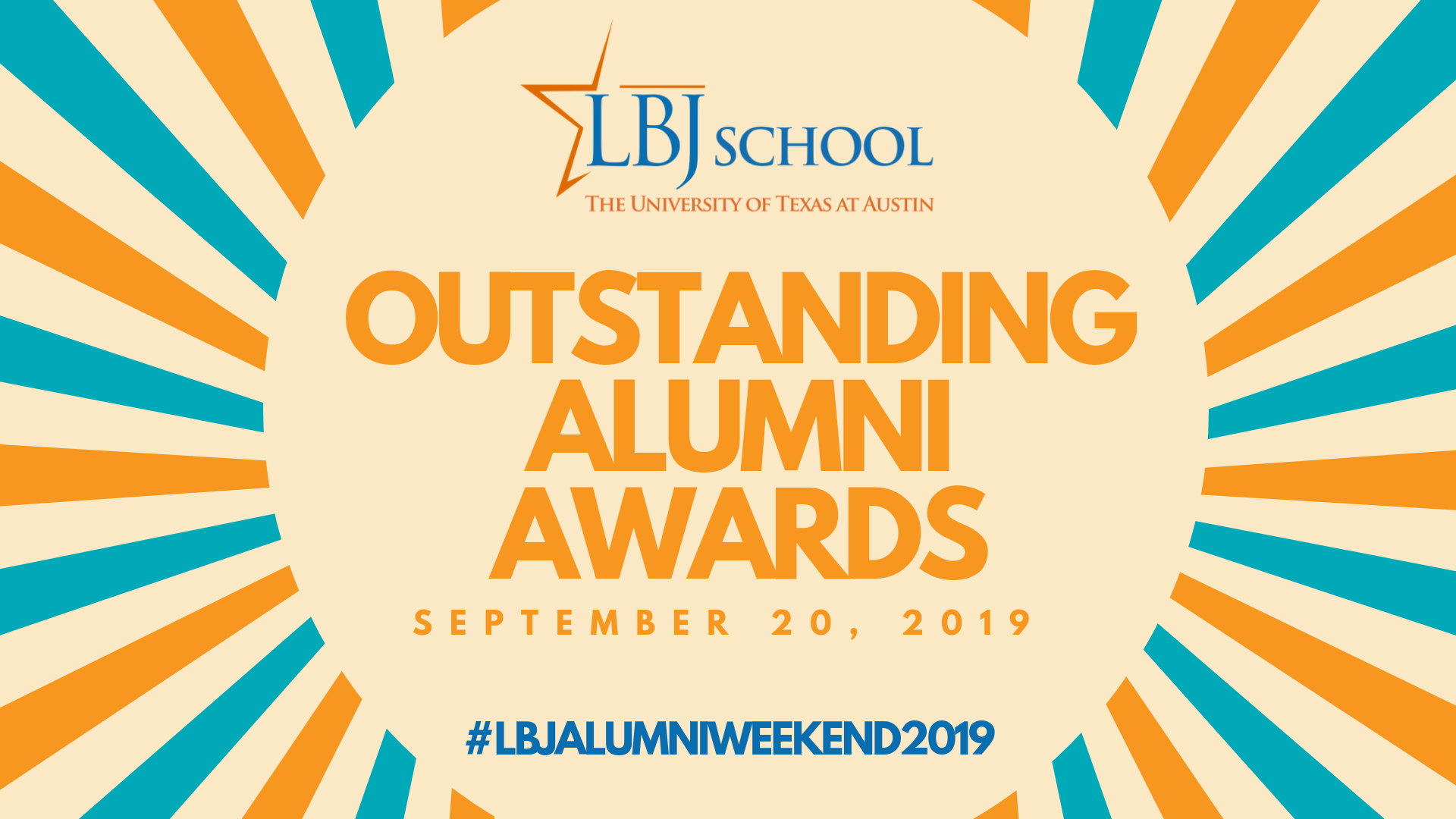 2019 LBJ Outstanding Alumni Awards