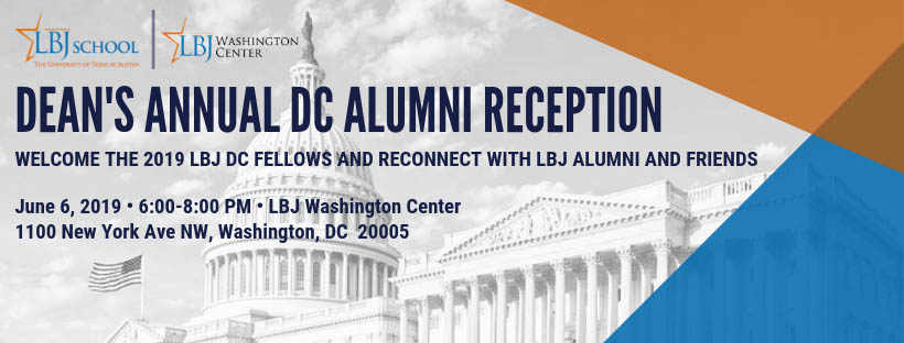 Dean's Annual DC Alumni Reception 2019