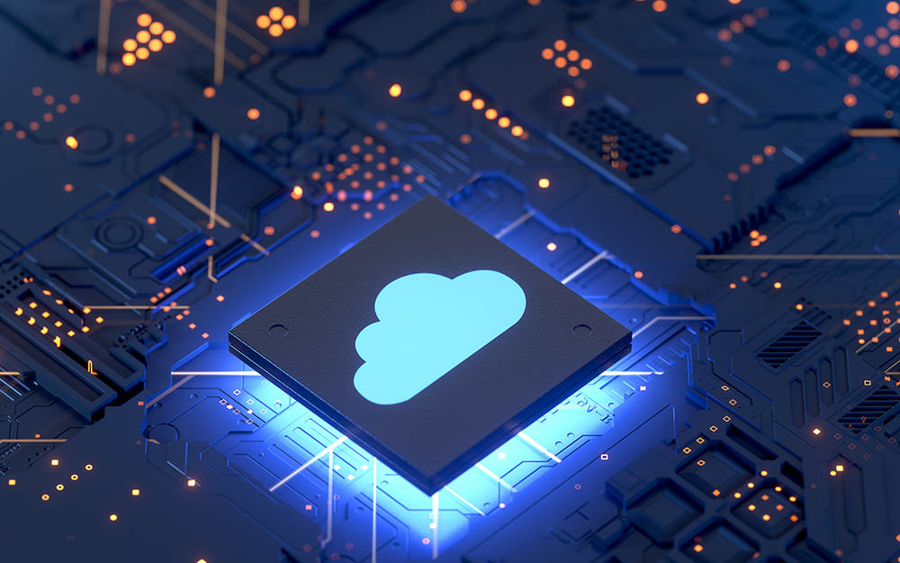 Circuitry and a cloud button