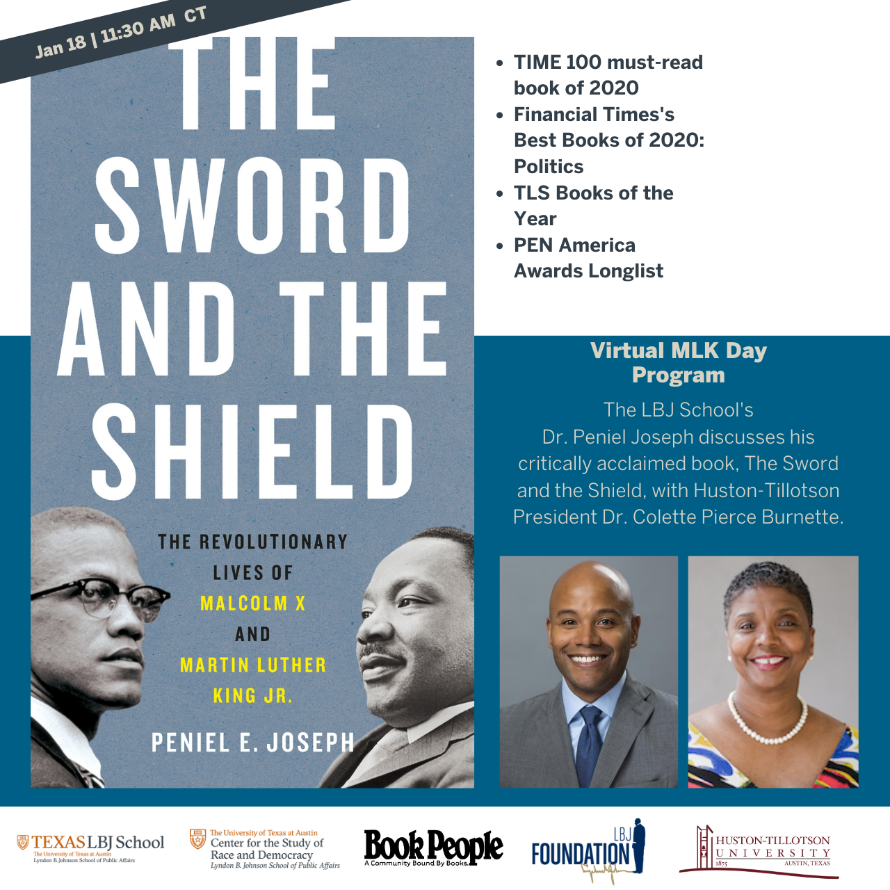 MLK Day Virtual Program: 'The Sword and The Shield'