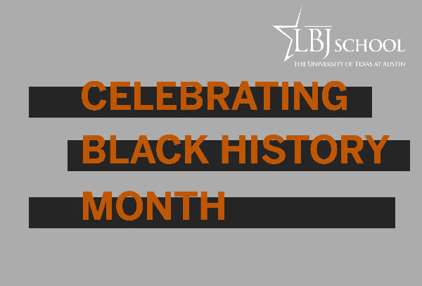 Graphic for Celebrating Black History Month 2019