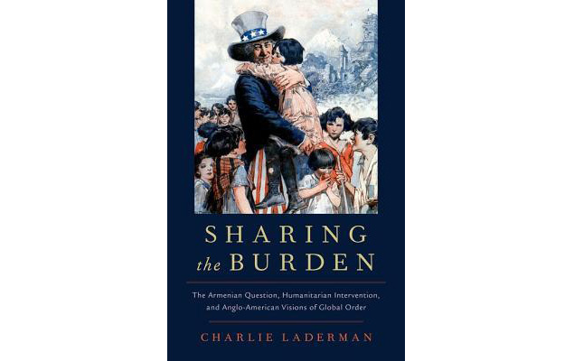"""""""Sharing the Burden"""" book cover"""