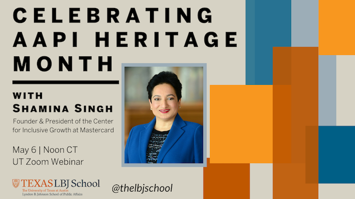 Graphic: Celebrating AAPI Heritage Month with Shamina Singh