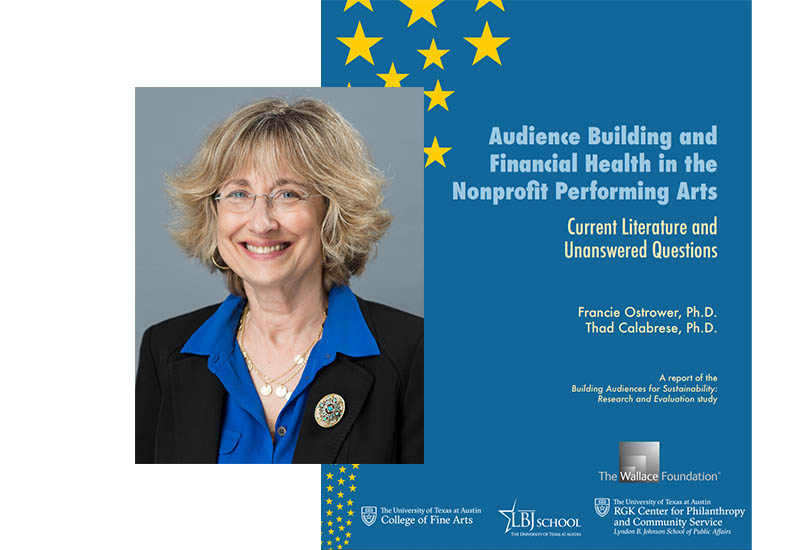 Professor Francie Ostrower and her Wallace Foundation report on audience building in the nonprofit performing arts