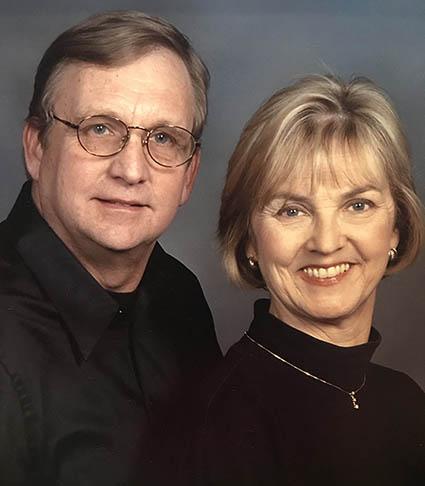 Joe and Greta Rymal (MPAff '75), who has established an LBJ student fellowship