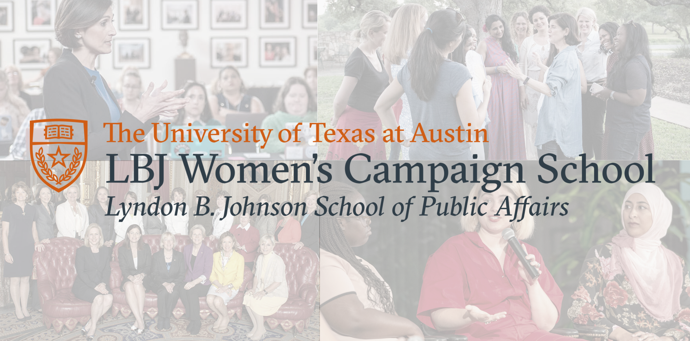 LBJ Women's Campaign School Header