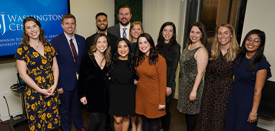 The 2019 cohort of LBJ DC Fellows.