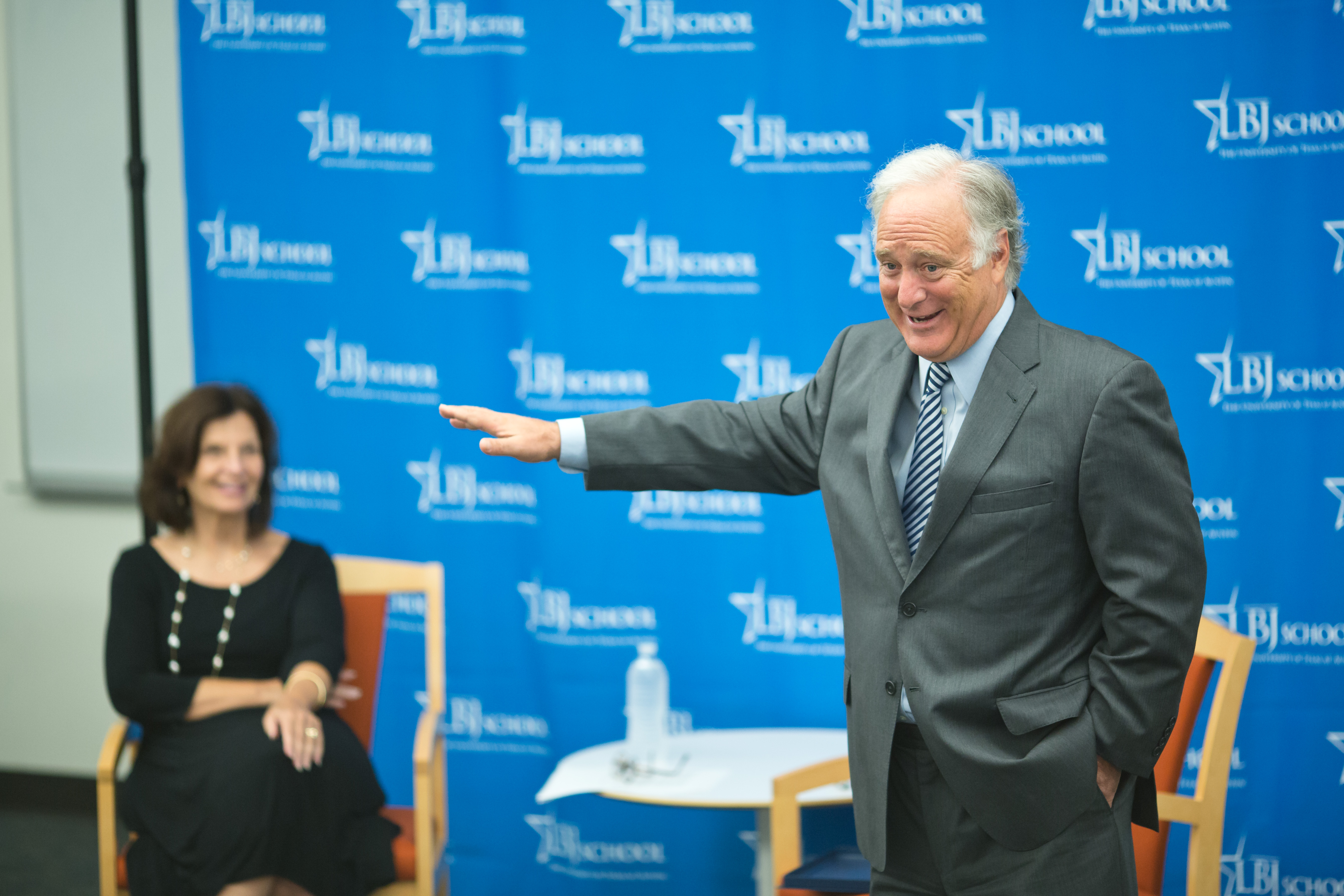 Texas Senator Kirk Watson Joins LBJ School Students