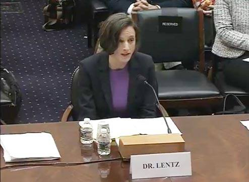 Erin Lentz, an assistant professor at the LBJ School, testified before the House Foreign Affairs Committee on modernizing food aid